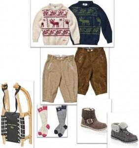 Weihnachten - das perfekte Outfit für Kinder