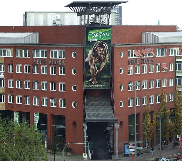 Disneys Muscial Tarzan in Hamburg, Neue Flora