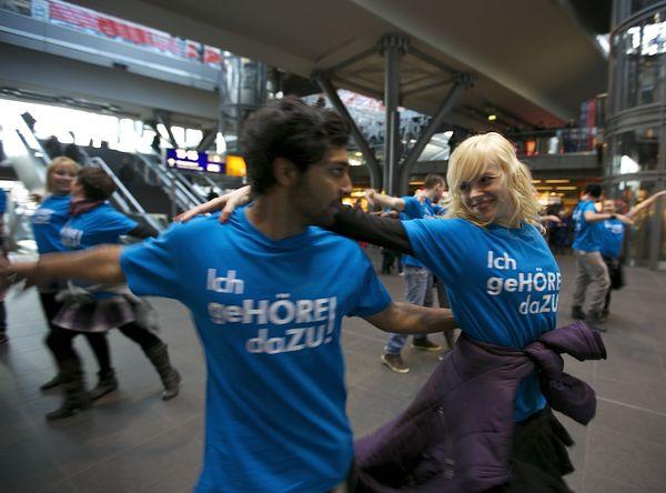 """""""Tag des Hörens"""" mit Flashmob"""