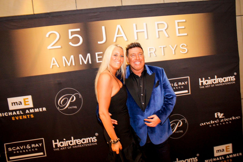 Michael Ammer mit Freundin Laura