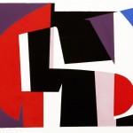 Joachim Albrecht: Die Rache des Caracalla 1956, Serigrafie 52 x 88 cm
