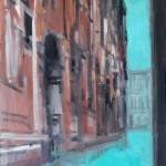 Wolf Bertram Becker (*1964): Venezia, 2012, Ölfarben auf Leinwand 100 x 80 cm