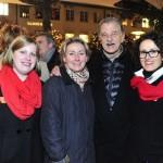Anja Meyfarth vom Hamburg Marriott Hotel, Bernd Stephan und Petra Kaiser, Madeleine Marx vom Hamburg Marriott Hotel
