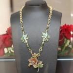 Collier Blütentraum von Stefanie Volkmer-Otto