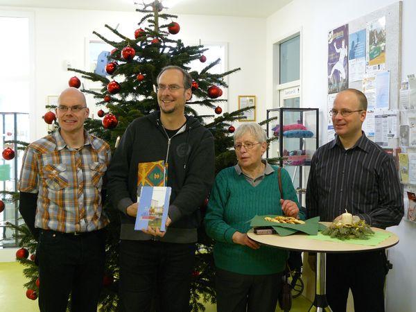 Jörg Meyer, John Ment, Margot Gehrmann und Michael Schulze