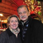 Schauspieler Bernd Stephan und Frau Petra Kaiser