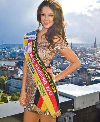 Noch amtierend: Miss Hamburg 2012 Viviana Beltran Velez