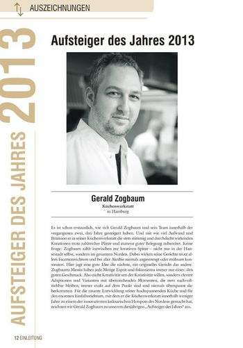 Gerald Zogbaum: Gusto-Aufsteiger des Jahres