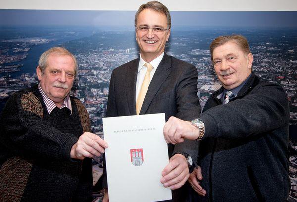 Hamburger Dom: Unterzeichner des Memorandum of Understanding