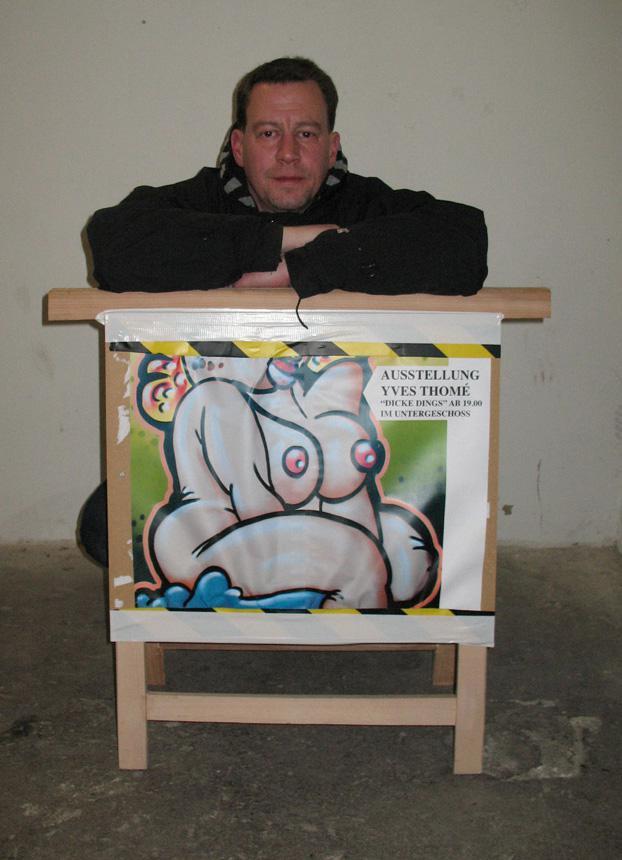 Graffiti-Künstler Yves Thomé