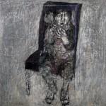 Hanno Edelmann: Madchen mit Puppe, 1965
