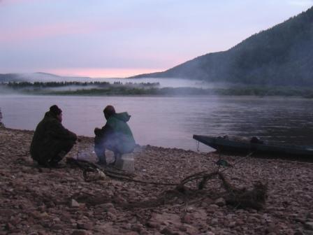 Karin Haß in Sibirien
