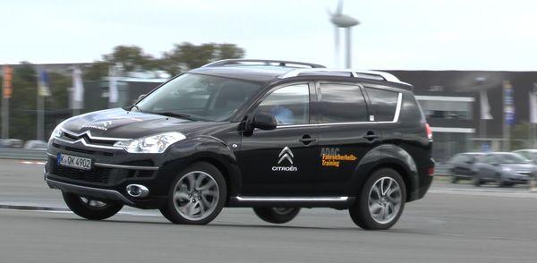SUV Training im ADAC Fahrsicherheitszentrum Hansa/Lüneburg