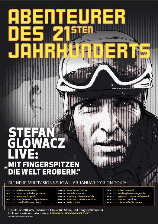 Kletterer Stefan Glowacz kommt in die Kleine Laeiszhalle