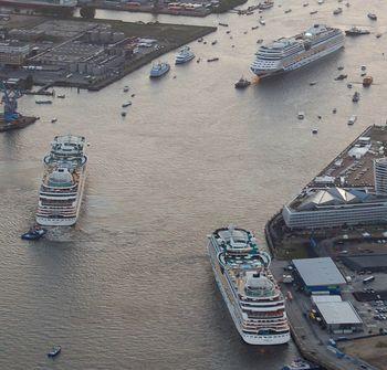 Aida Cruises zeigt Präsenz in Hamburg