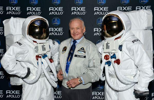 Buzz Aldrin für Axe