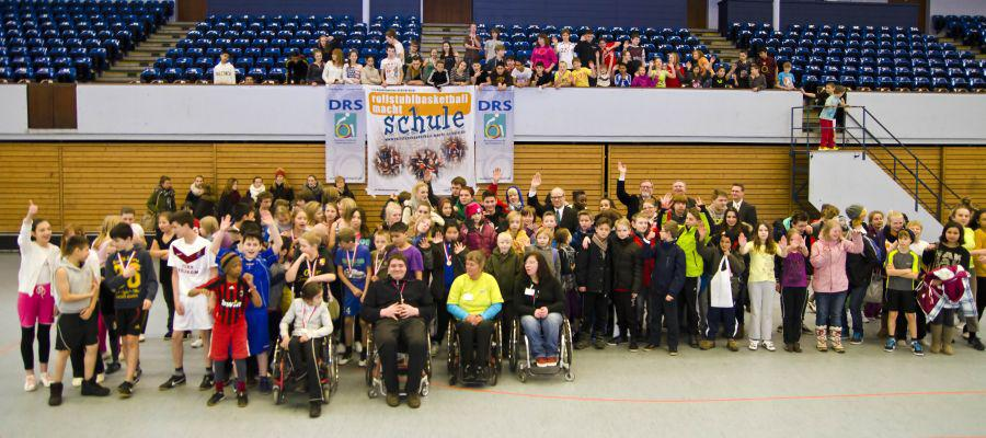 Rollstuhl-Sporttag in Hamburg