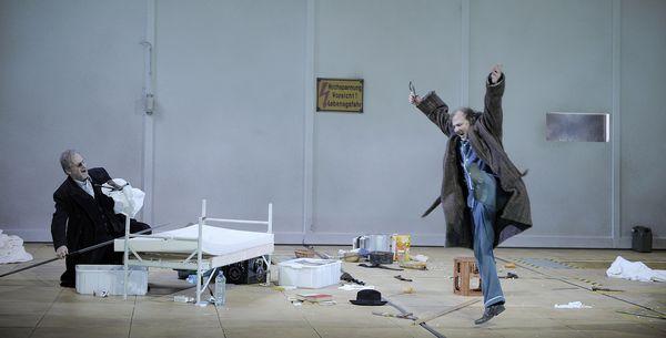 Szenenfoto aus Siegfried, Staatsoper Hamburg
