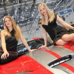 Messegirls Autosalon Genf