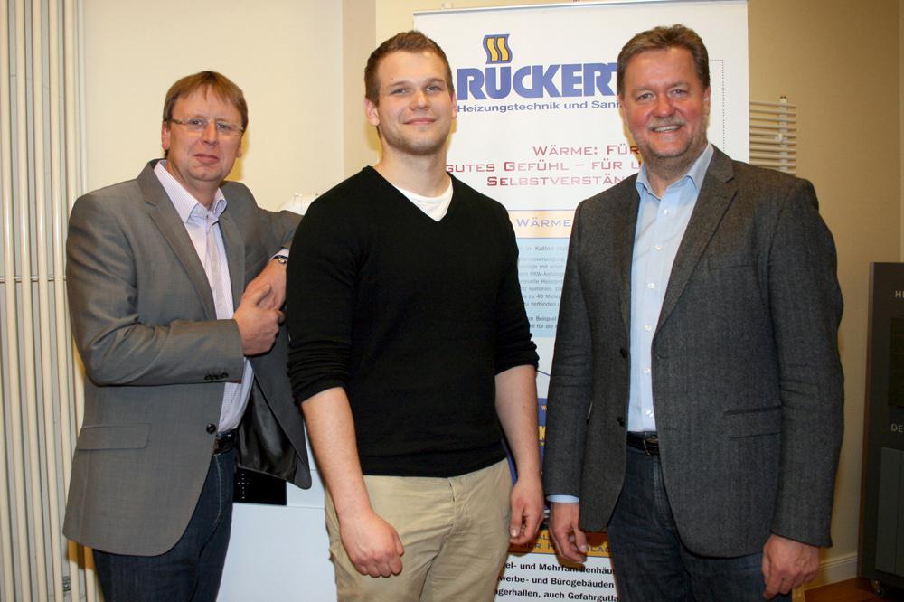 Andreas Schuhmann, Jan Breuer und Lars Rückert