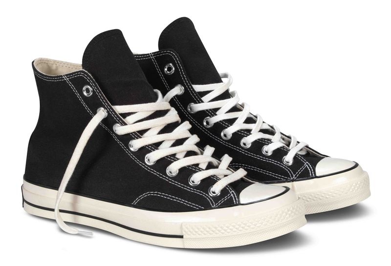 1970s Chuck Taylor All Star, schwarz