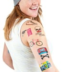 "Donkey Products ""Temporary Tattoos"""