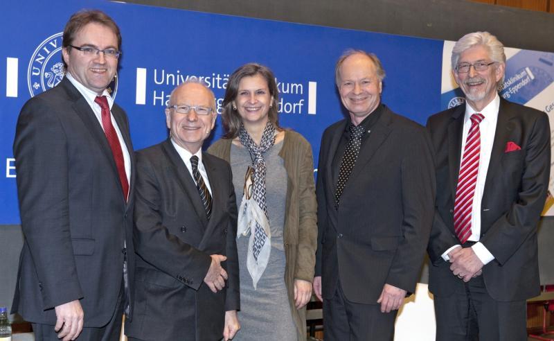 Prof. M. Augustin, Prof. H. Lohmann, Dr. R. Klakow-Franck, Dr. W.-D. Leber und H. Fahrenkamp