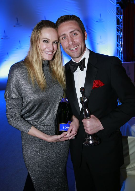 Philippe Pierre Cousteau mit Ashlan Gorse
