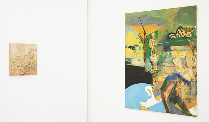 """gallery weekend"": Installation Johannes Lotz in der Galerie Kramer Fine Art"