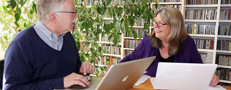 Peter Meyer und Christiane Osterhof
