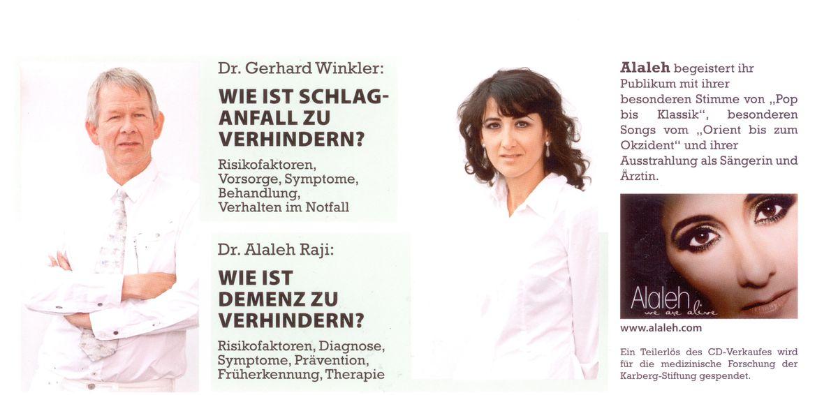 Dr. Alaleh Raji und Dr. Gerhard Winkler