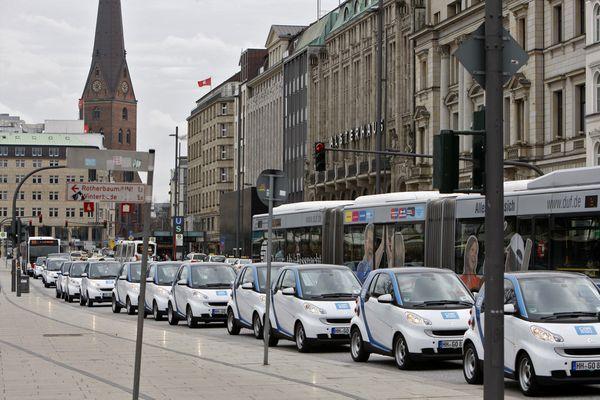 Car2go in Hamburg