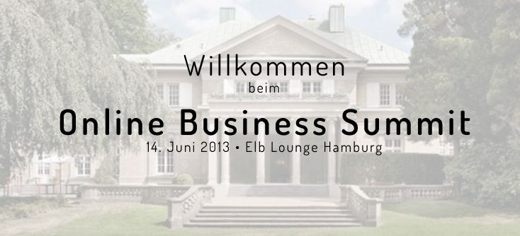 Online Business Summit findet in der Elb Lounge Hamburg statt
