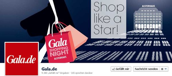 Gala Shopping Night im Hamburger Alsterhaus