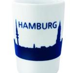 Hamburg-Skyline-Becher von Kahla-Porzellan