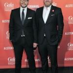 Alexander Franke (Geschäftsführer Alsterhaus) und Christian Krug (GALA-Chefredakteur), die Gastgeber des Abends
