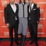 Christian Krug (GALA-Chefredakteur), Jorge Gonzalez und Alexander Franke (Geschäftsführer Alsterhaus)