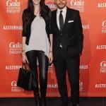 Model Antonia Wesseloh und Alexander Franke (Geschäftsführer Alsterhaus)