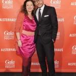 Sibilla Pavenstedt und Alexander Franke (Geschäftsführer Alsterhaus)