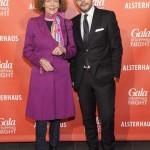 Mariella Andraee und Alexander Franke (Geschäftsführer Alsterhaus)