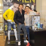 Stephan Luca und Kostja Ullmann beim GALA MEN Styling-Point