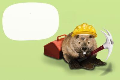 Mäuse putzen Hamburger Landungsbrücken