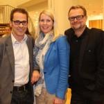 Enrico Pescara (Mediaplan), Mirja Timm (Kölln) und Jörg Büttner (Kölln)