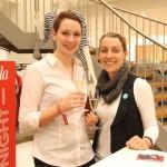 Lena Eylers (Pilot) und Ann Kathrin Bida (Pilot)