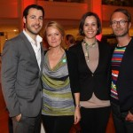 Jonas Wolf (Director Brand Solutions GALA), Kerstin Schmidt (Wempe), Melanie Schroeder Willich (Willich PR) und Marcus Luft (Mode-Chef GALA)