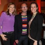 Astrid Saß (stv. Chefredakteurin GALA), Marcus Luft (Mode-Chef GALA) und Melanie Schroeder Willich (Willich PR)