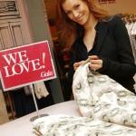Yasmina Filali beim Shopping