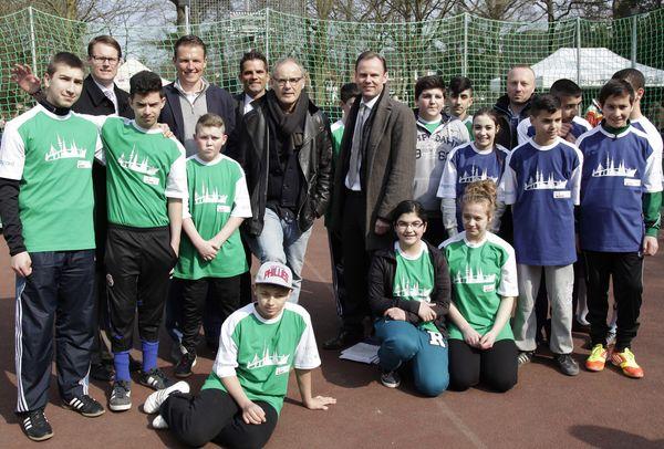 NestWerk eröffnet gemeinsam mit Barclaycard 12. Straßenfußball-Saison