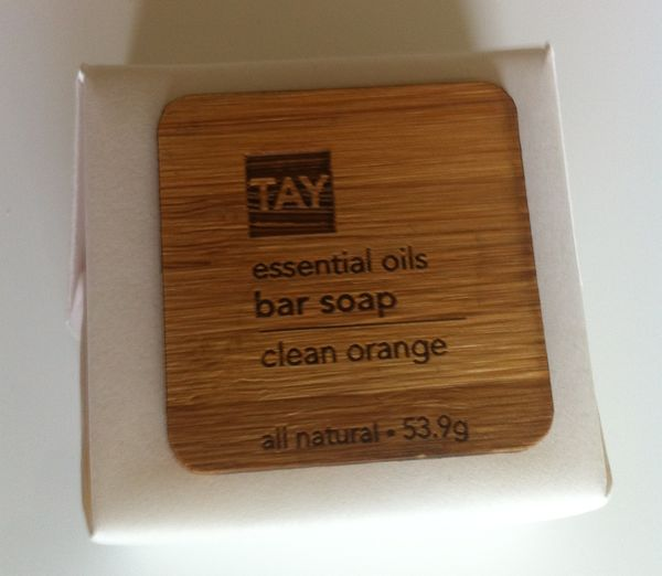 Tay Skincare - Essential Oils Bar Soap Clean Orange