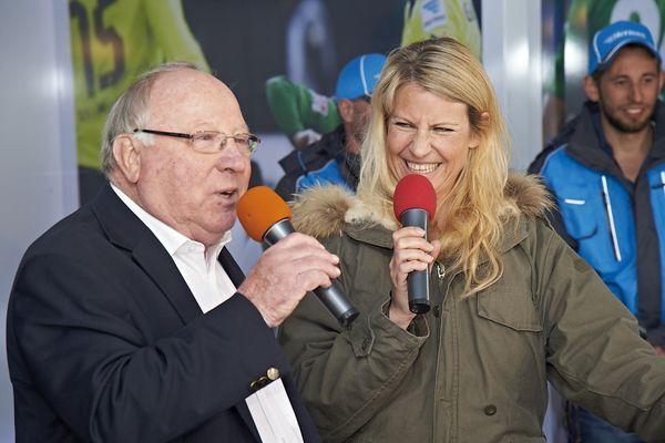 Uwe Seeler und Isabella Müller-Reinhardt